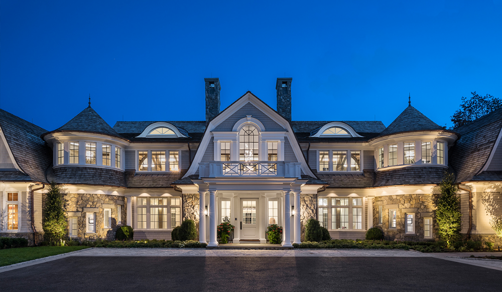 Luxury Gambrel House in Greenwich CT Cardello Architects