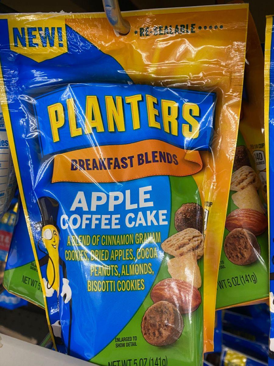 Planters breakfast blend apple coffee cake in 2020 Apple