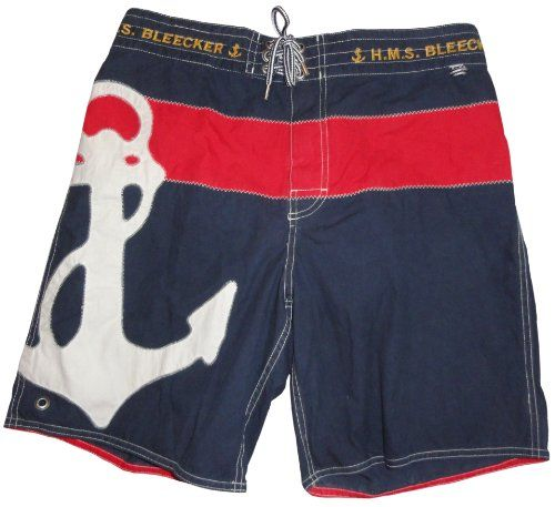 e897af58219 Polo by Ralph Lauren Men s Swim Trunks Bathing Suit Yacht Club Navy Red