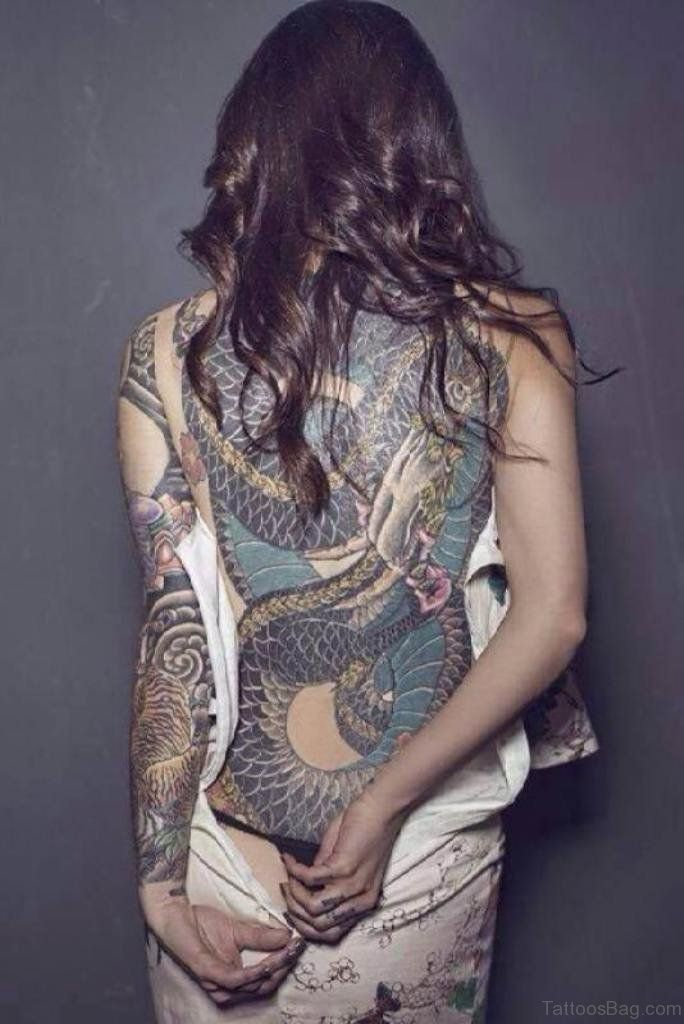 big snake tattoo on full back | tattoos | tatouage, tatouage dos