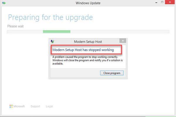 Modern Setup Host Has Stopped Working While Upgrading To Windows 10 Setup Modern Hosting