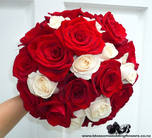 Red Cream Rose Bouquet Red Bouquet Wedding White Wedding Bouquets White Bridal Bouquet