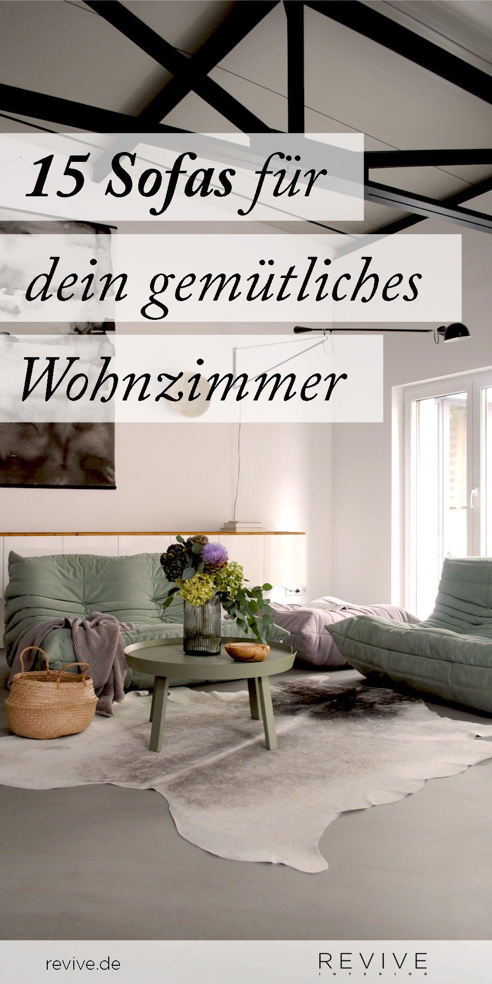 Wohnzimmer Einrichten Sofas Zum Wohlfühlen Wohnzimmer