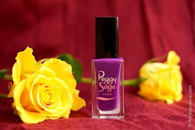Peggy Sage #323 Plumy Mat + topcoat