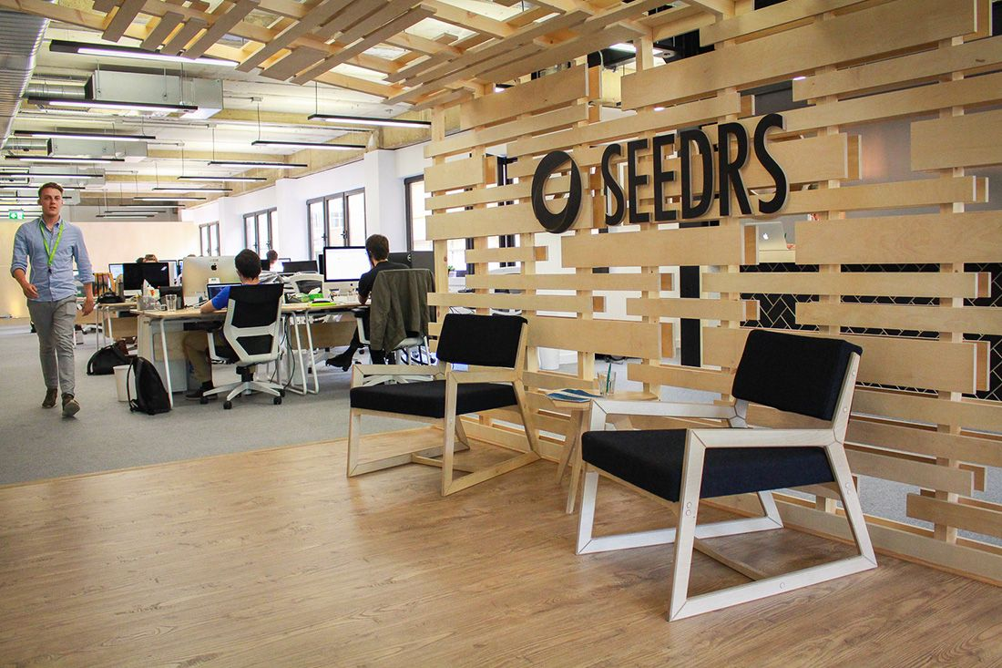 Inside Seedrs' New London Headquarters | Office | New london