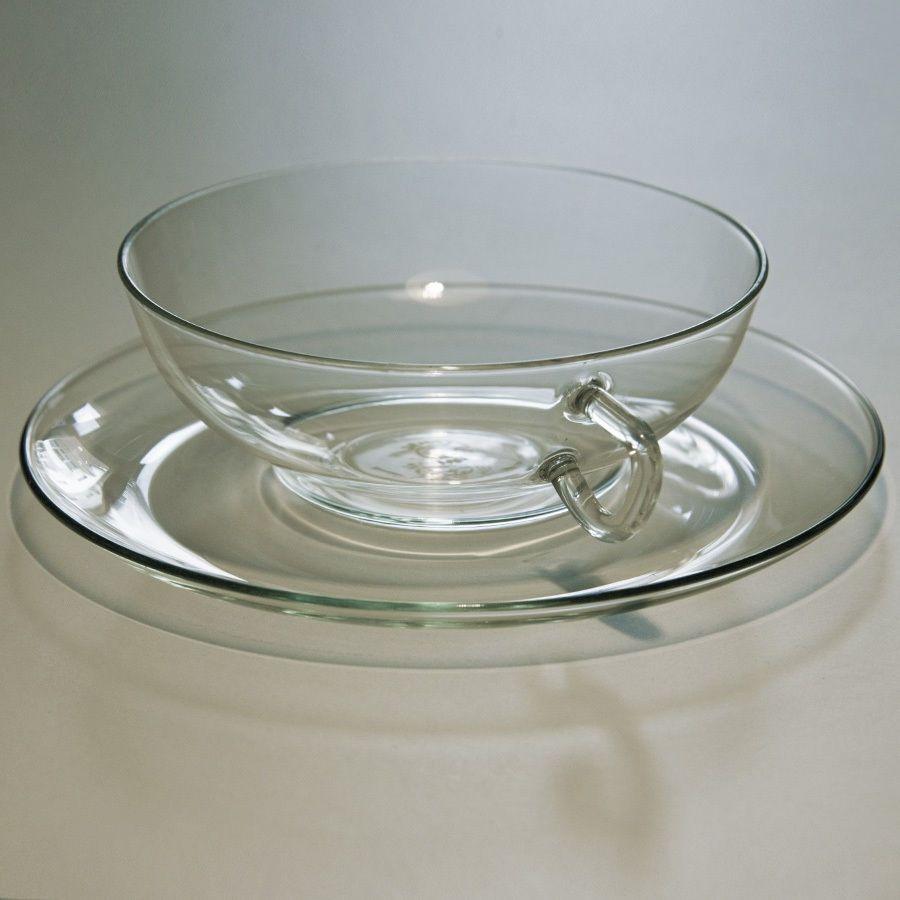 Teetassen Glas jenaer glas wagenfeld bauhaus set teetassen 30er jahre