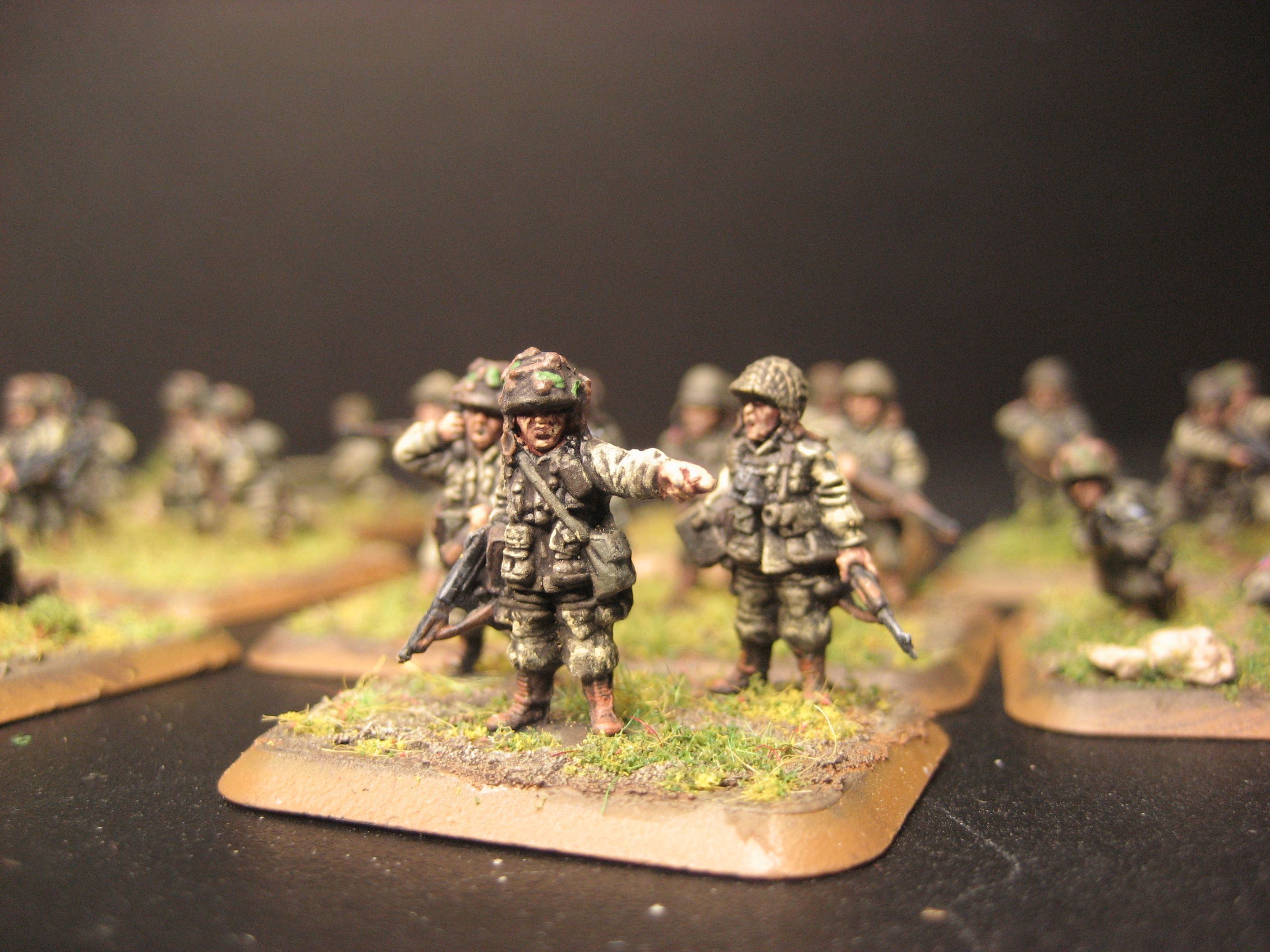 Flames of War, 15mm 101st Airborne, officers command team