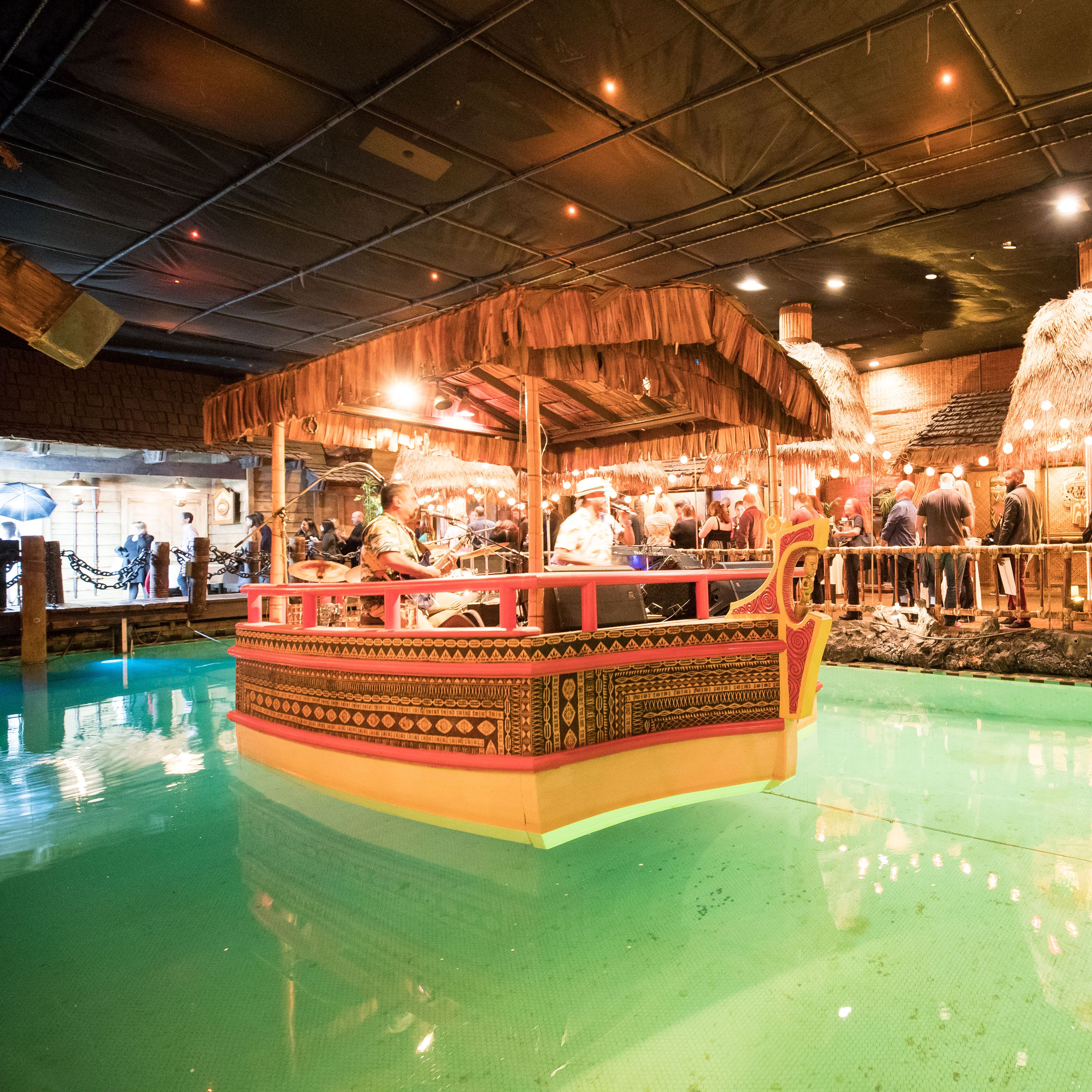 Floating stage at the Tonga Room FairmontSanFrancisco SF