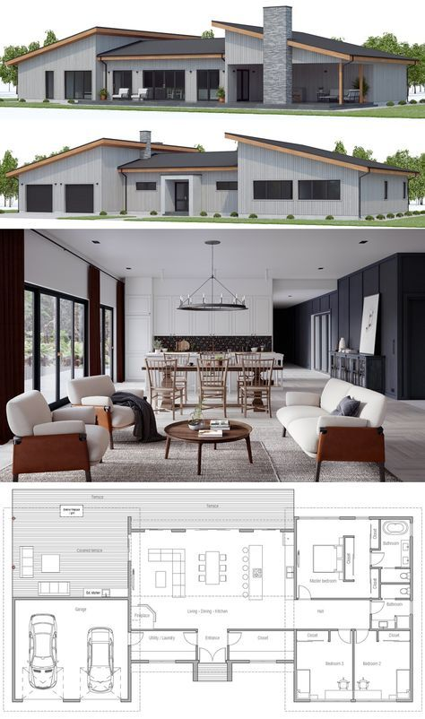 House plan ch also architectural designs home kph gives you bedrooms rh pinterest