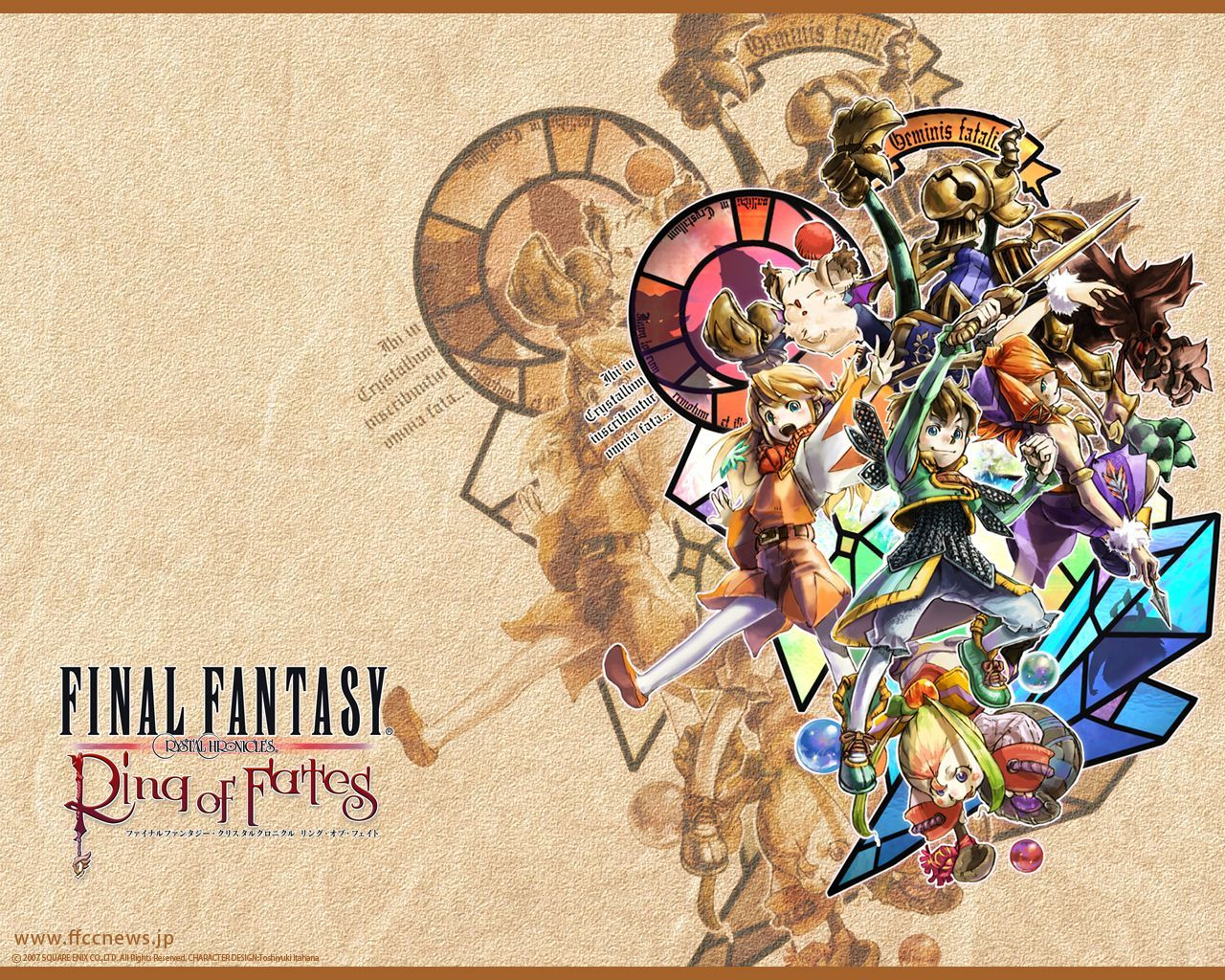 Week 17 Crystal Chronicles Rings Of Fate Final Fantasy