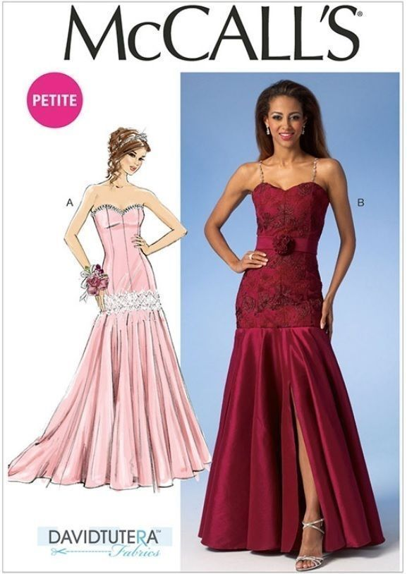 Ball Gown Prom Dress Patterns