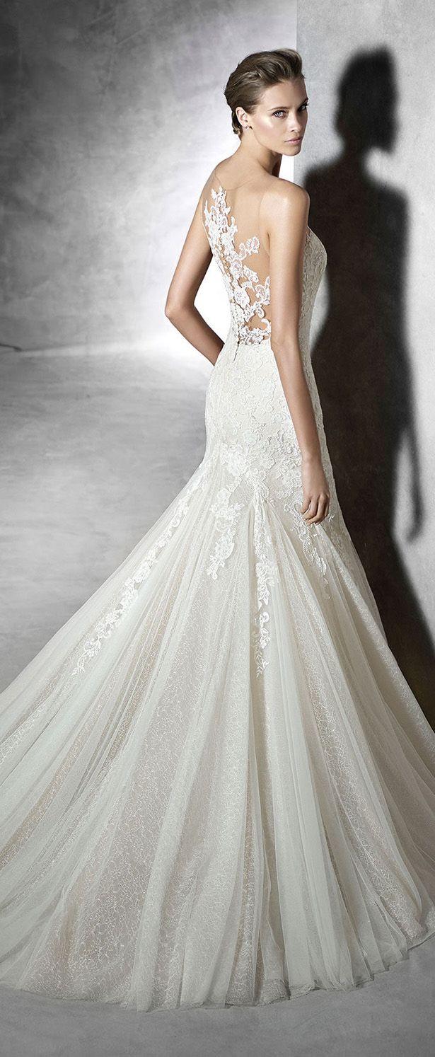 Pronovias 2016 Bridal Collection Part 2 Belle The Magazine Pronovias Wedding Dress Beautiful Wedding Dresses 2016 Wedding Dresses