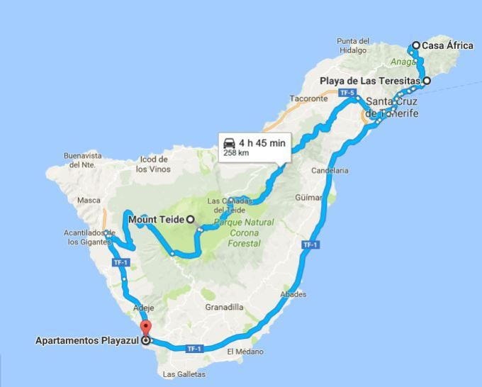 One Day Roadtrip Across Tenerife Tenerife Buckets and Travel