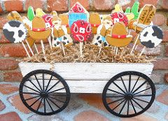 country boot cookies - Google Search