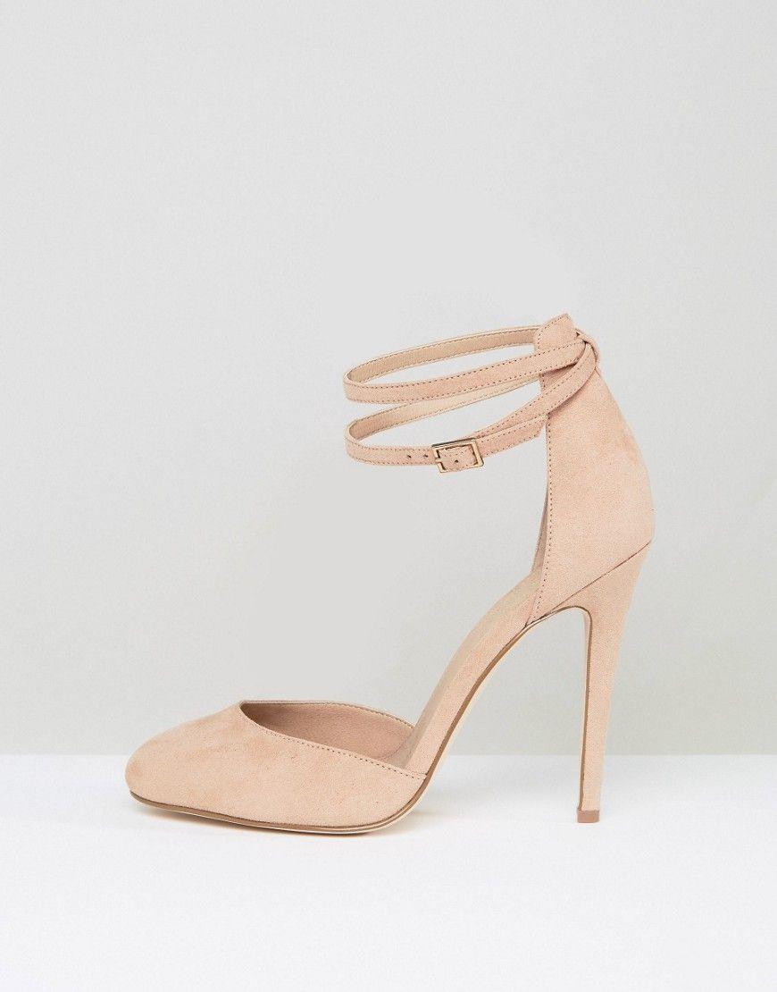7ad110bfea4 ASOS PLAYDATE Wide Fit High Heels - Beige | Heels | Shoes, Beige ...