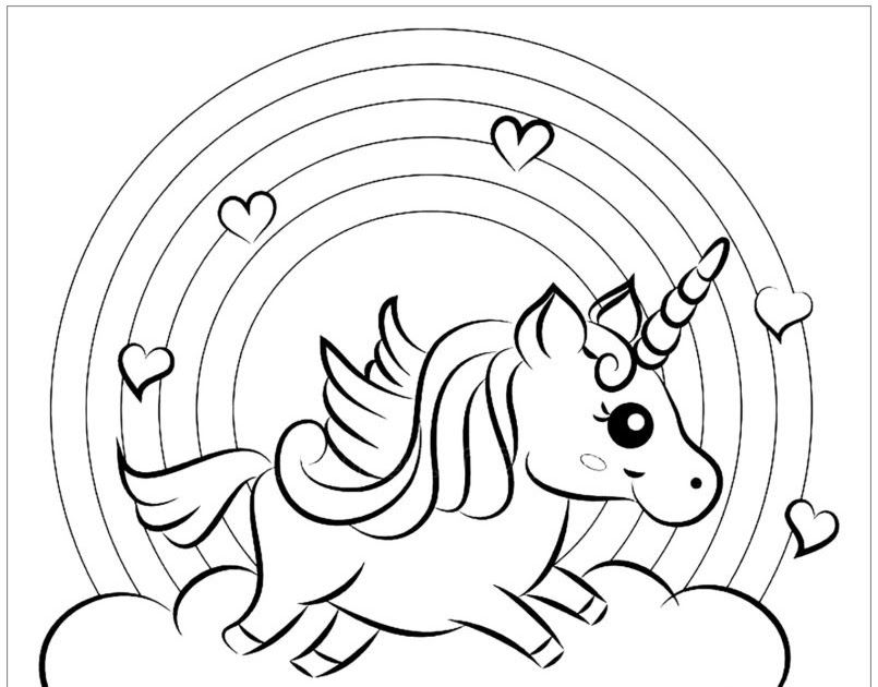 Unicorn Is One Of Favorite Picture For Many People In The World See Also Our Large Collection Of Unicorn Coloring Pages Kids Coloring Books Coloring For Kids