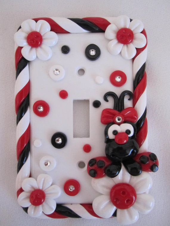 Decorative Switch Plate Cover  Decorative Switchplate by StarkyArt