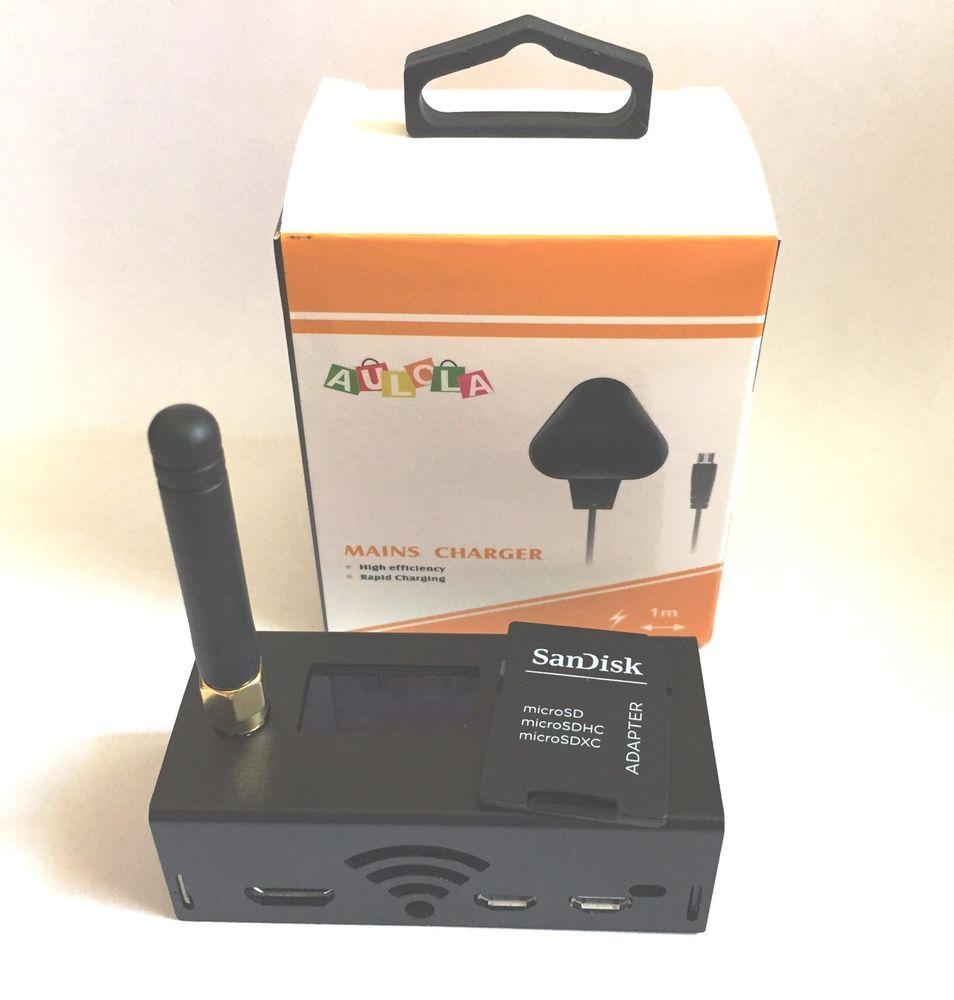 MMDVM hotspot for P25 DMR YSF Raspberry pi, OLED Display, 4G Card