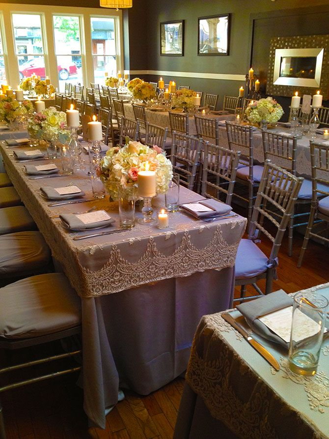 Wedding reception in taupe with bamboo chair Indelible Events LGBT