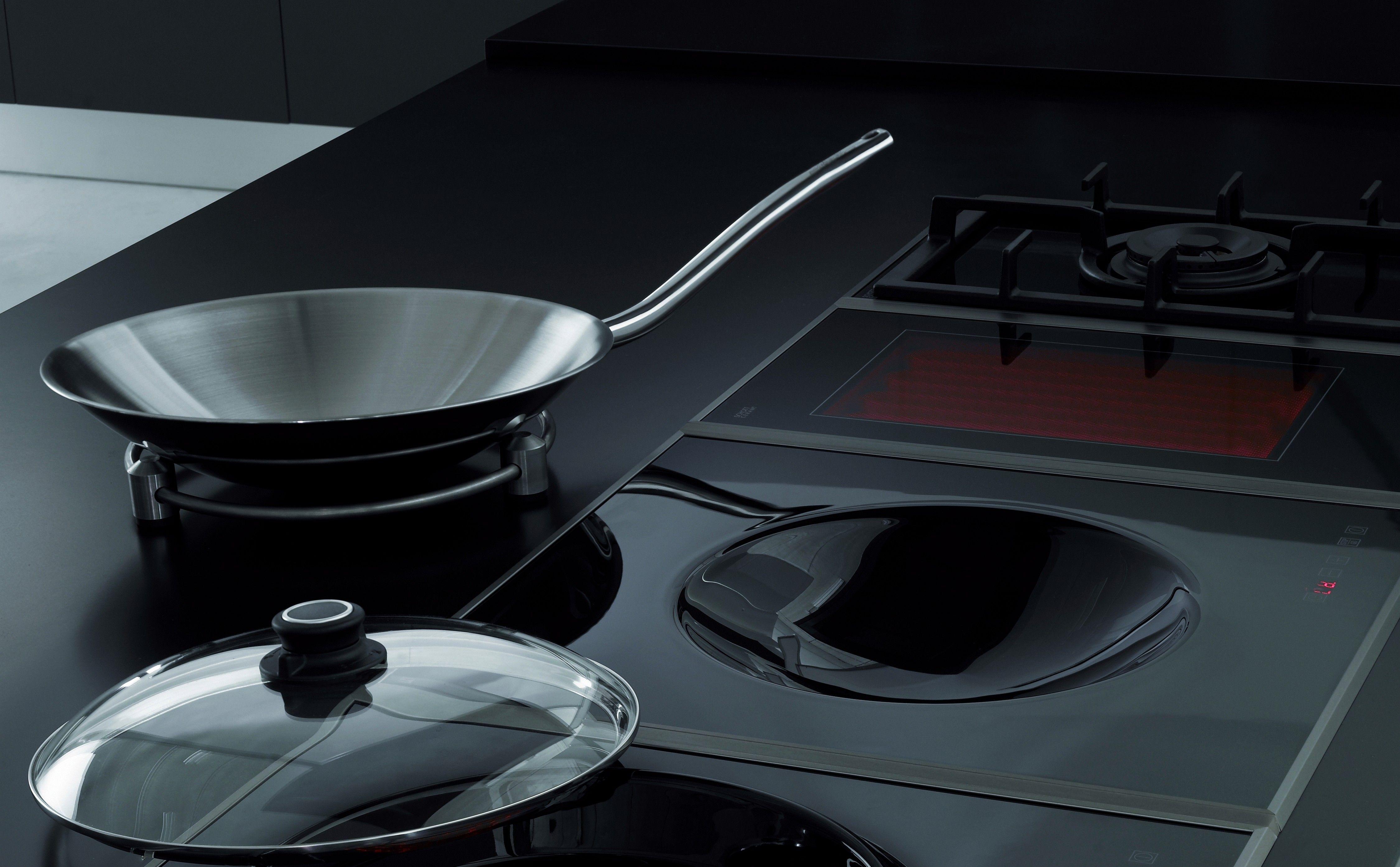 Cocinar Con Wok En Vitroceramica | Vitroceramica De Induccion Wok Placas Pinterest Cocinas