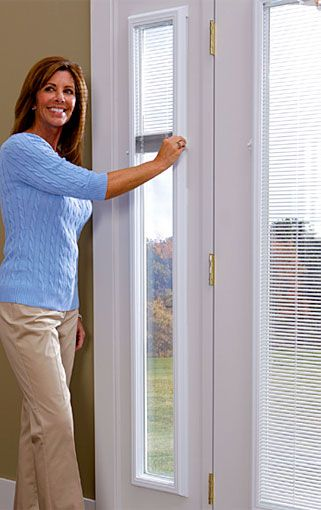 Enclosed Window Blinds For Doors To Add On Western