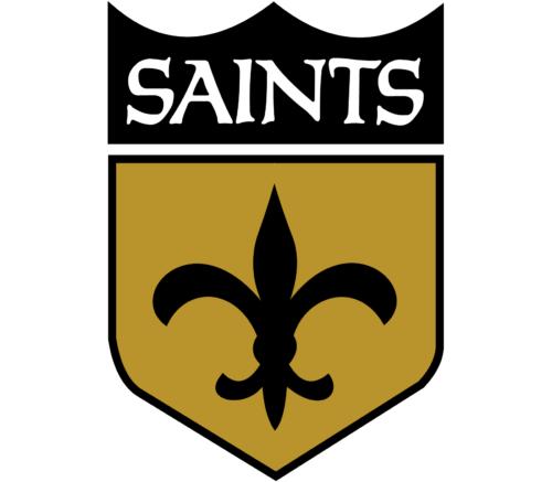 The Fleur De Lis Placed In A Shield New Orleans Saints Logo New Orleans Saints New Orleans