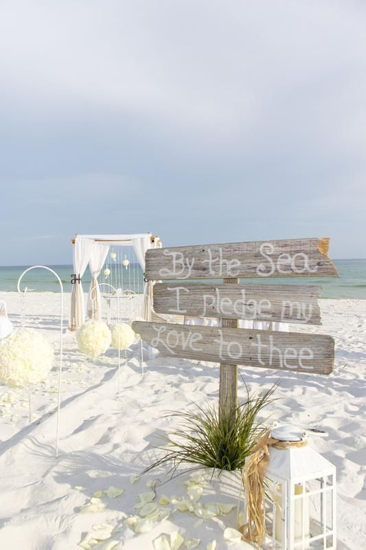 Affordable All Inclusive Destin Florida Beach Wedding Packages By Barefoot Weddings Beachweddingideas