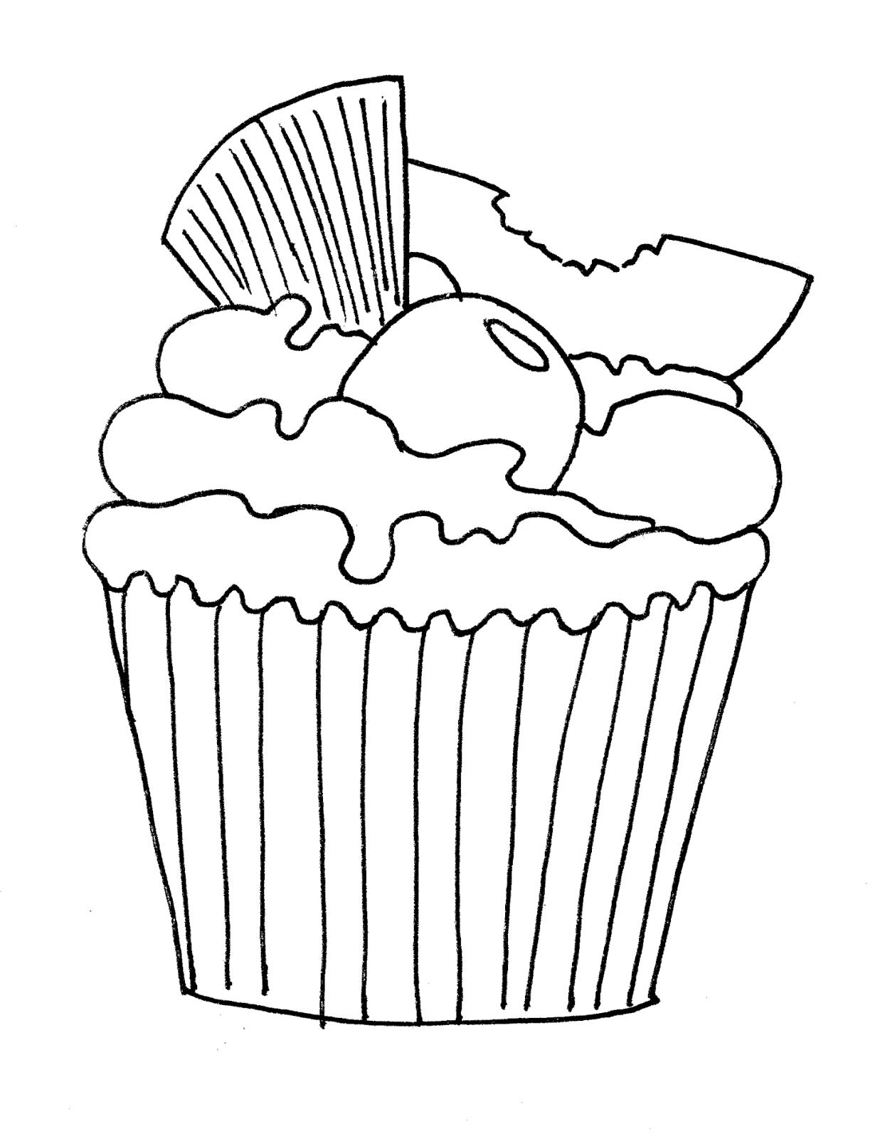 Mis Hojas de Papel: Sellos Digitales pineapple muffin, cupcake de ...