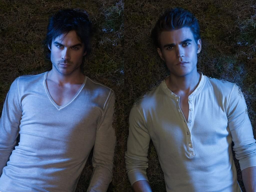 Salvatore on the vampire diaries he was pictures to pin on pinterest - Ian Somerhalder And Paul Wesley As The Salvatore Brothers Vampire Diaries