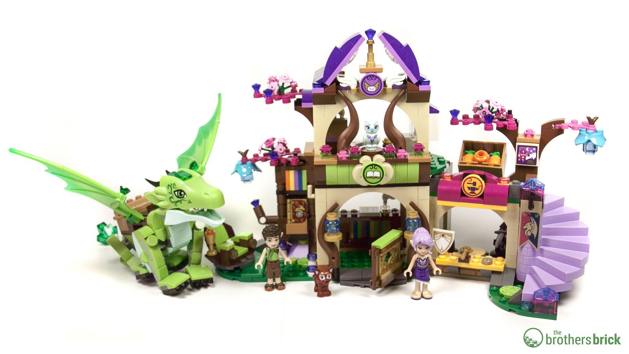 New Lego Instruction Manual ONLY for Elves The Secret Marketplace Set 41176