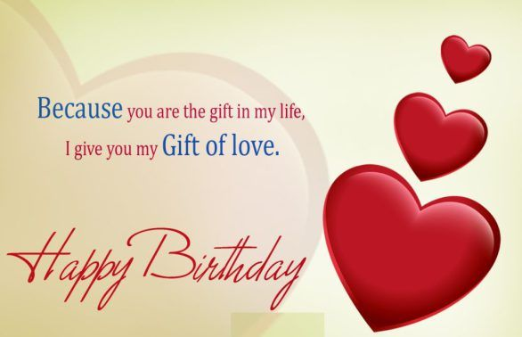 Birthday Wishes For Lover