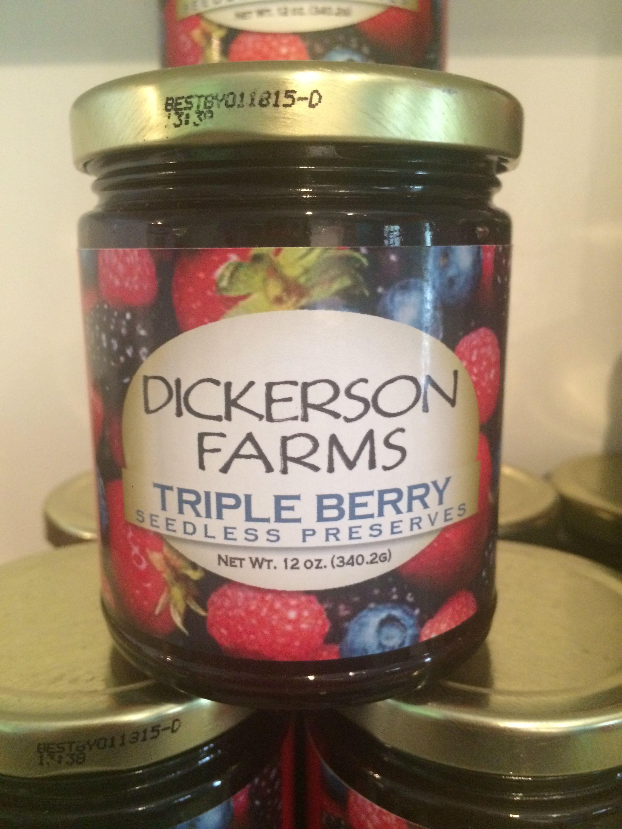 $8.00 Each  Triple Berry Seedless Preserve