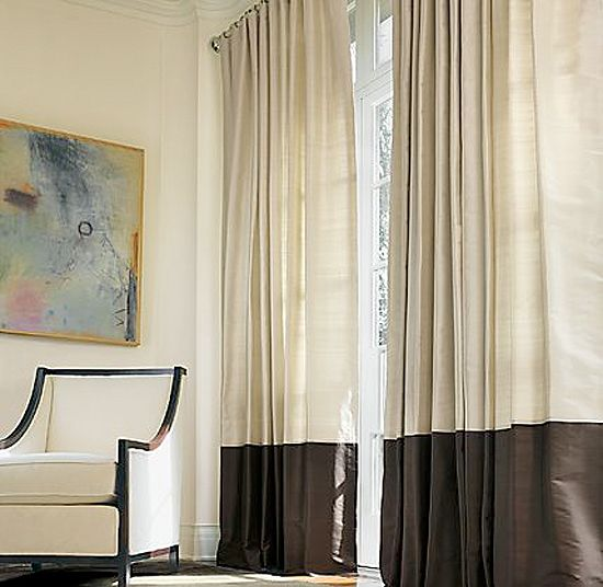 Accessories Window Treatments Curtains Color Block