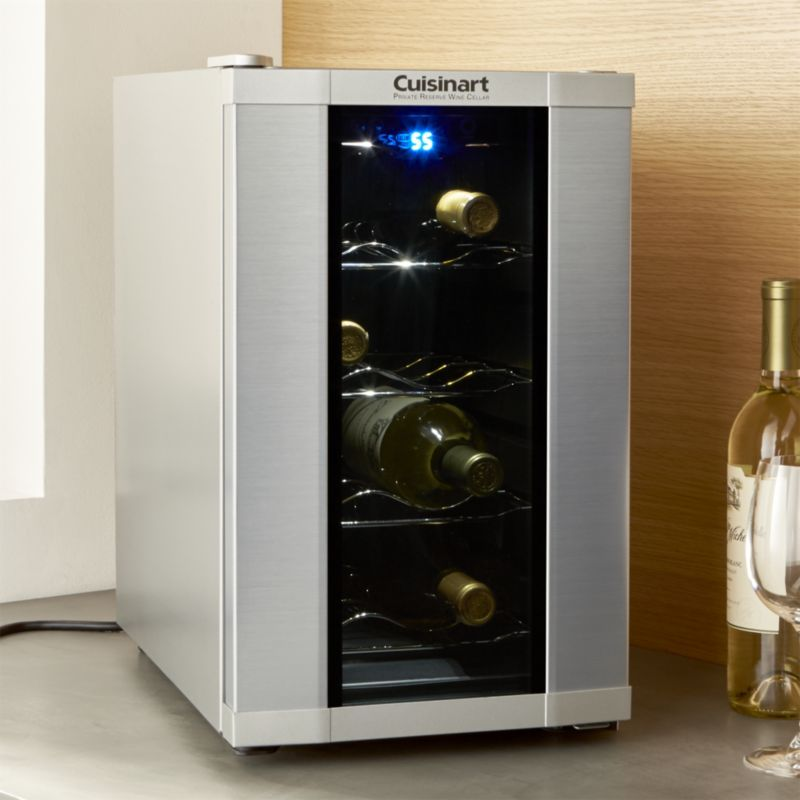 Cuisinart 8 Bottle Wine Cooler Best Wine Coolers Home Bar Accessories Specialty Appliances