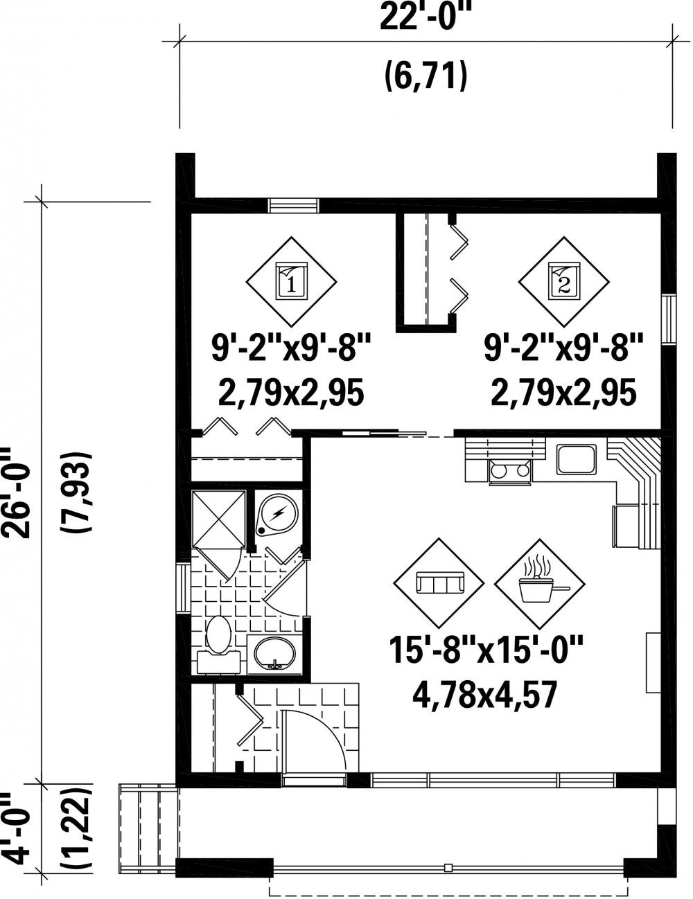 Plan Image Used When Printing Tiny House Plans In 2018 Plan
