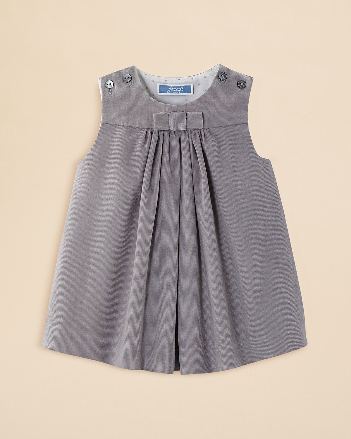 a99124a889fd0 Jacadi Infant Girls' Pleated Corduroy Dress - Sizes 3-12 Months |  Bloomingdale's
