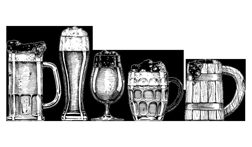 Foam Illustration Glass Beer Glassware Drawing Beer Drawing Beer Bottle Drawing Beer Illustration