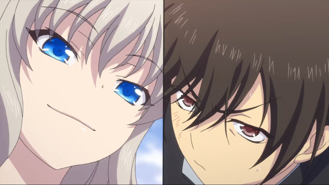 I really love there relationship Anime, Charllote anime