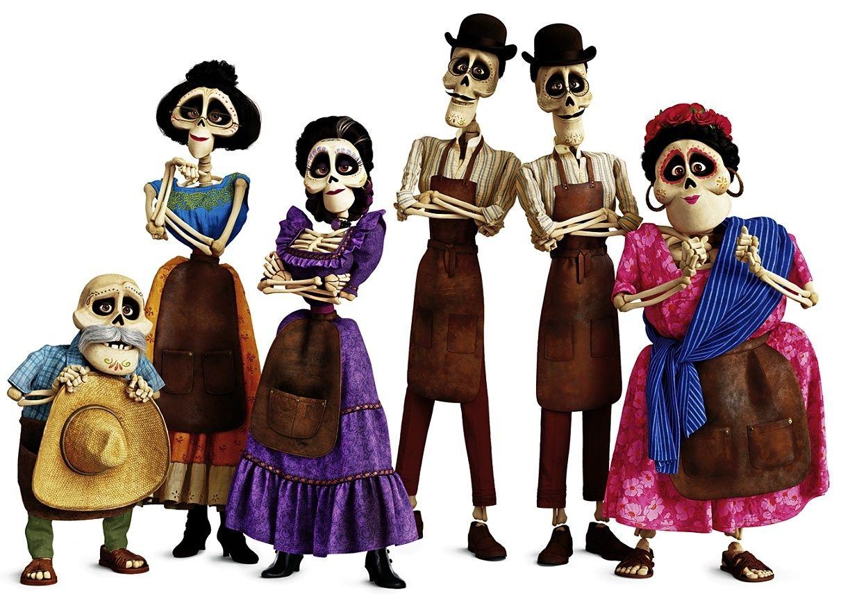 Coco Muertos Mariachis Y Bad Hombres En La Nueva Película De Pixar Papel El Mundo Mexico Coco Pelicula Películas De Pixar Disfraces De Peliculas