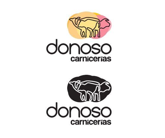 Donoso Carniverías #logo #gourmet #carniceria