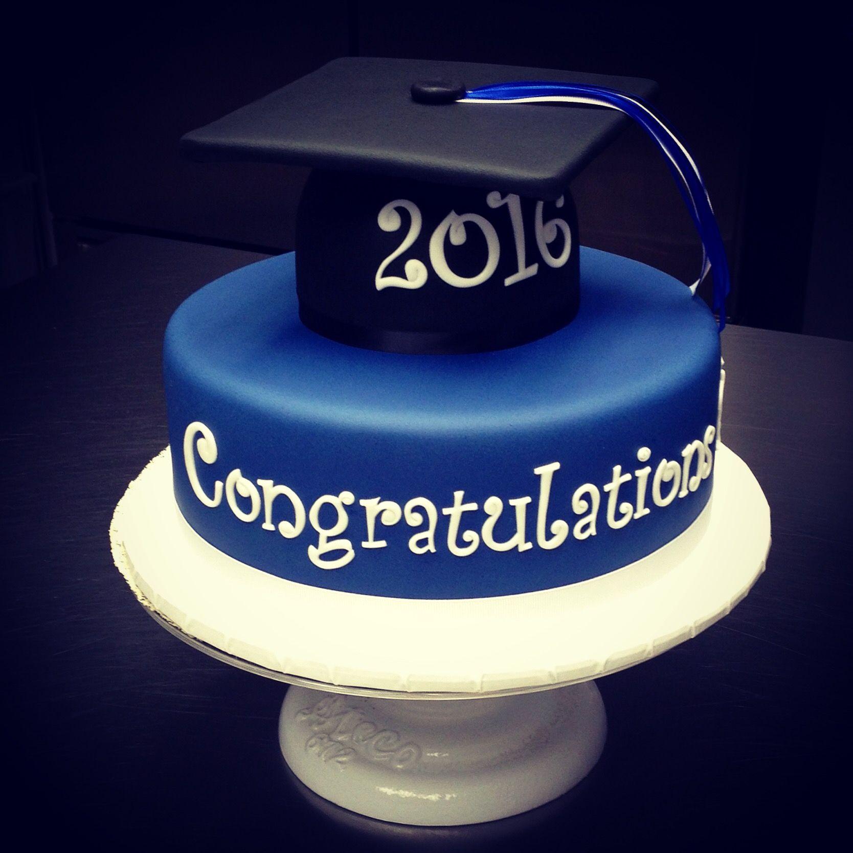 The Yale Blue Graduation Cake Sweet Mary S New Haven Ct 203 777 Mary 6279 Graduation Cakes Grad Cake Mary Cake