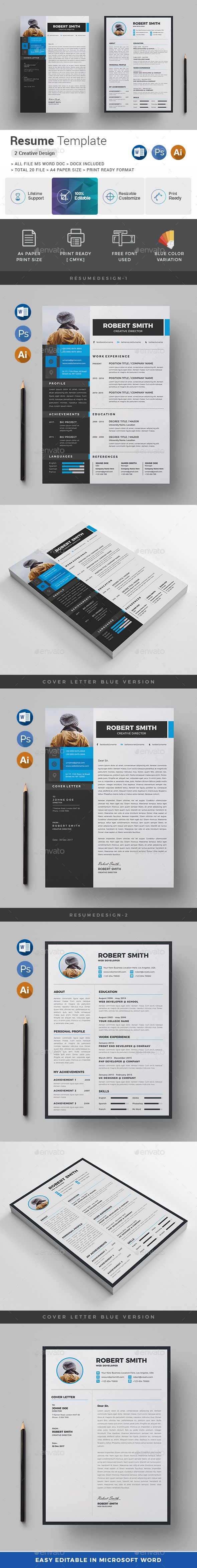 Resume | Ai illustrator, Template and Resume ideas