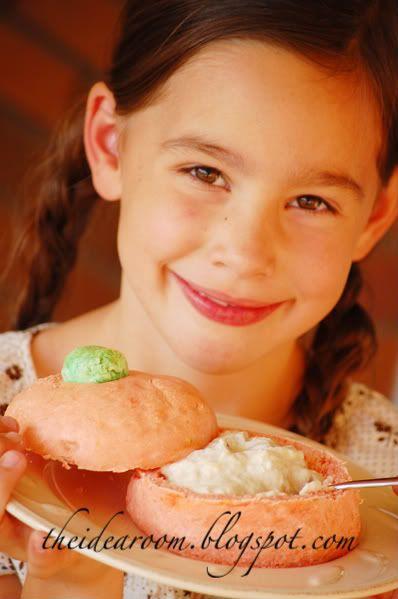 Halloween Ideas Bread Bowls Pumpkin Bread Pumpkin