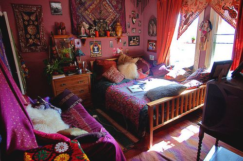 Bed bedroom colors hippie room image 319800 on favim bedroom design ideas