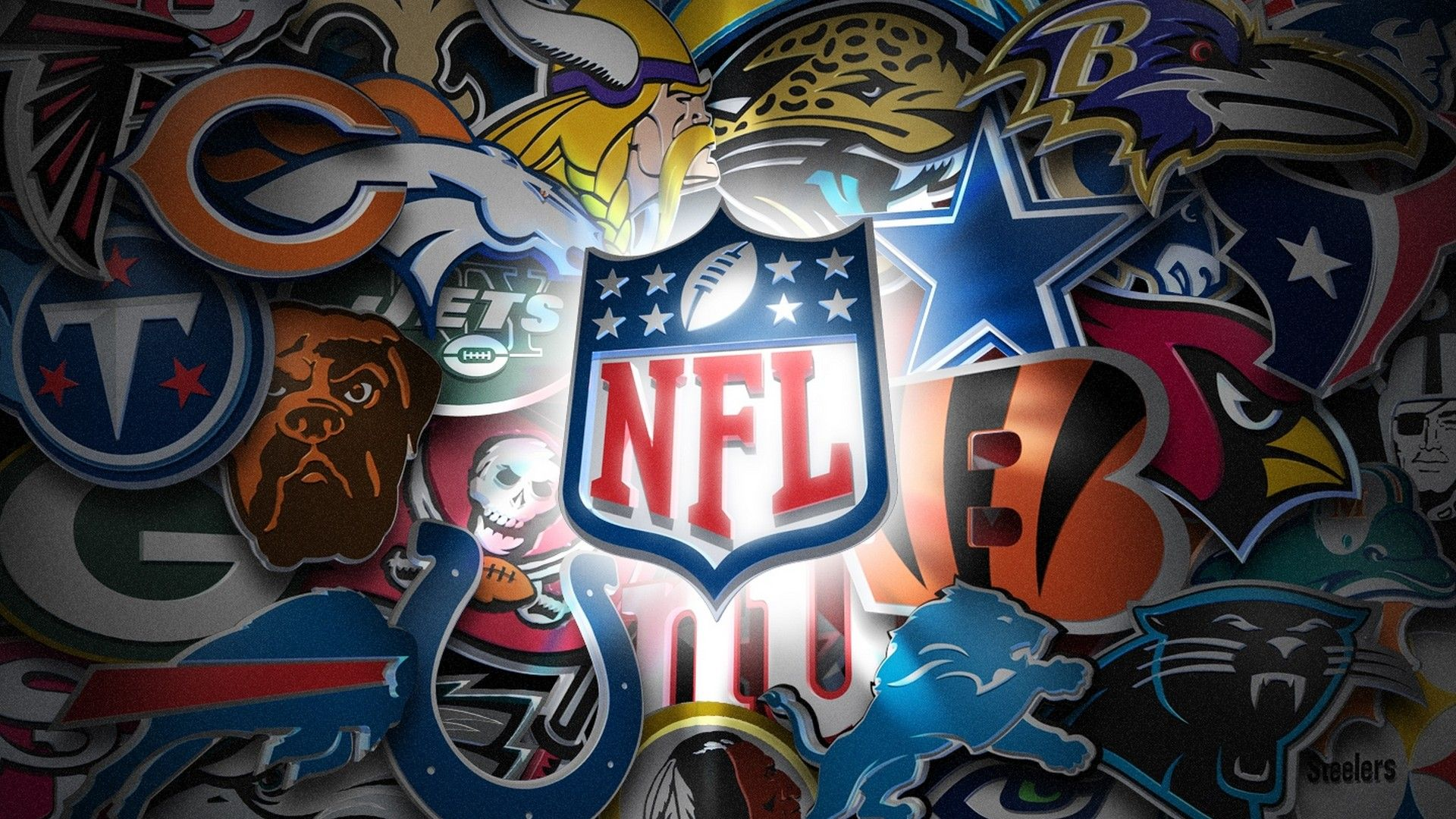 Nfl Wallpapers Nfl Teams Logos Football Wallpaper Nfl Logo
