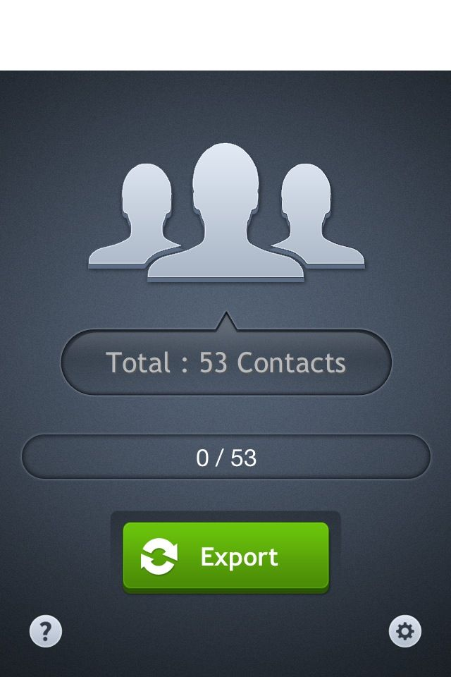 How to Backup Your iPhone Contacts Recipe Iphone, App