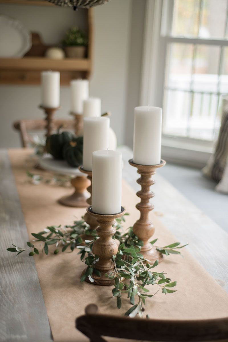 Three Candle Table Runner