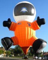 Spaceman hot air balloon