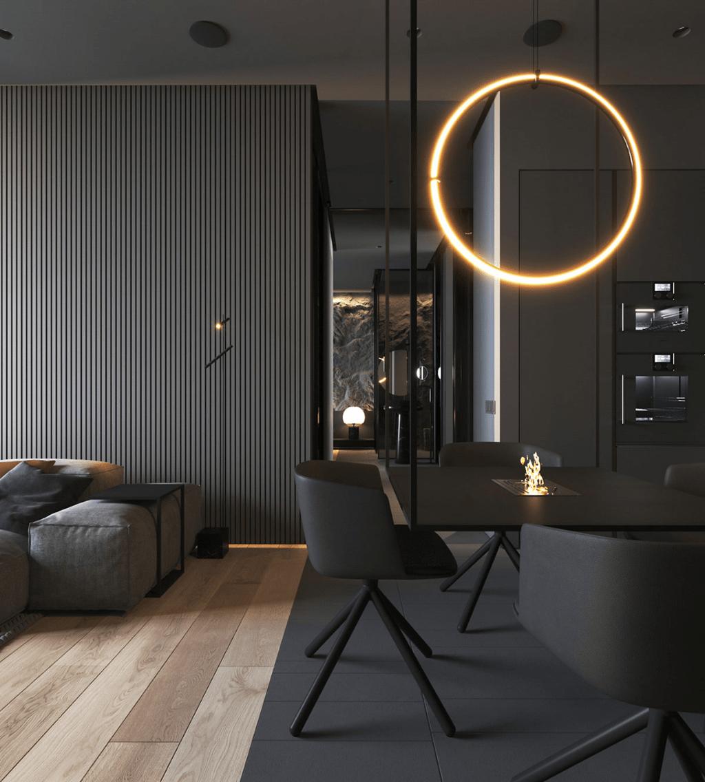 Interior Design Ideas Of Living Room Scandinavian Interior Design Best School Interior Des In 2020 Minimalism Interior Black Interior Design Minimal Interior Design
