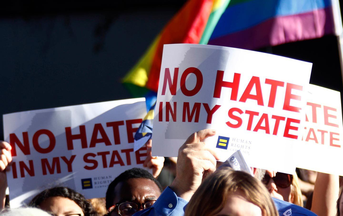 Bernie Sanders vows to overturn Mississippi and North Carolina's recent  anti-LGBT laws if he is elected president.
